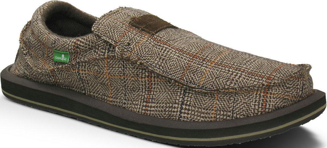 *SANUK蘇格蘭格紋:KYOTO DEAN寬版懶人鞋推出Glen Check版本 1