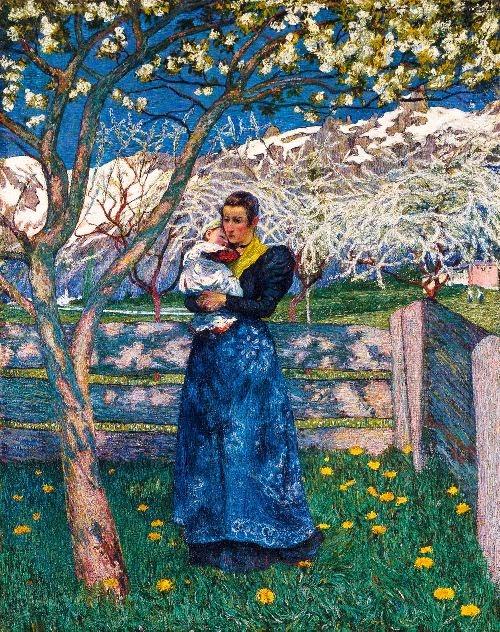 Giovanni Giacometti - Spring
