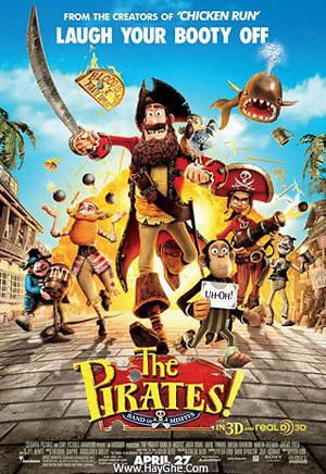 Phim Hoa Vương Hải Tặc - The Pirates! Band Of Misfits
