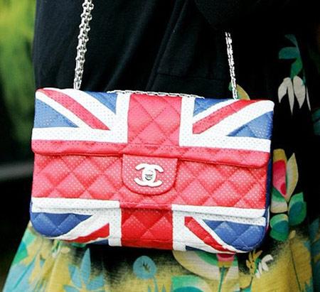 Inspiração Union Flag (bandeira do Reino Unido) - bolsa Channel