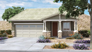 Gilbraltar floor plan Discovery at Morrison Ranch by Lennar Homes