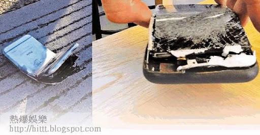 美國一名男子將iPhone 6放入褲袋,不幸遇上車禍,他指電話被撞彎,繼而起火。男子大腿受二級燒傷。(網上圖片)