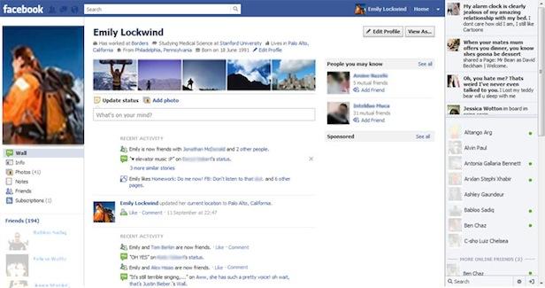 2011 yılında Facebook