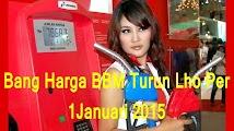 Harga Baru BBM per 1 Januari 2015