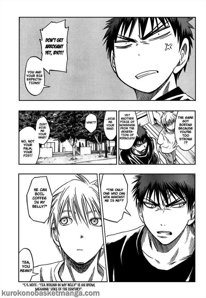 Kuroko no Basket Manga Chapter 41 - Image 17