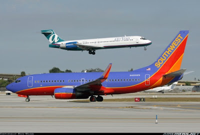 Southwest Airlines & AirTran Airways Launch Winter Fare Sale 1