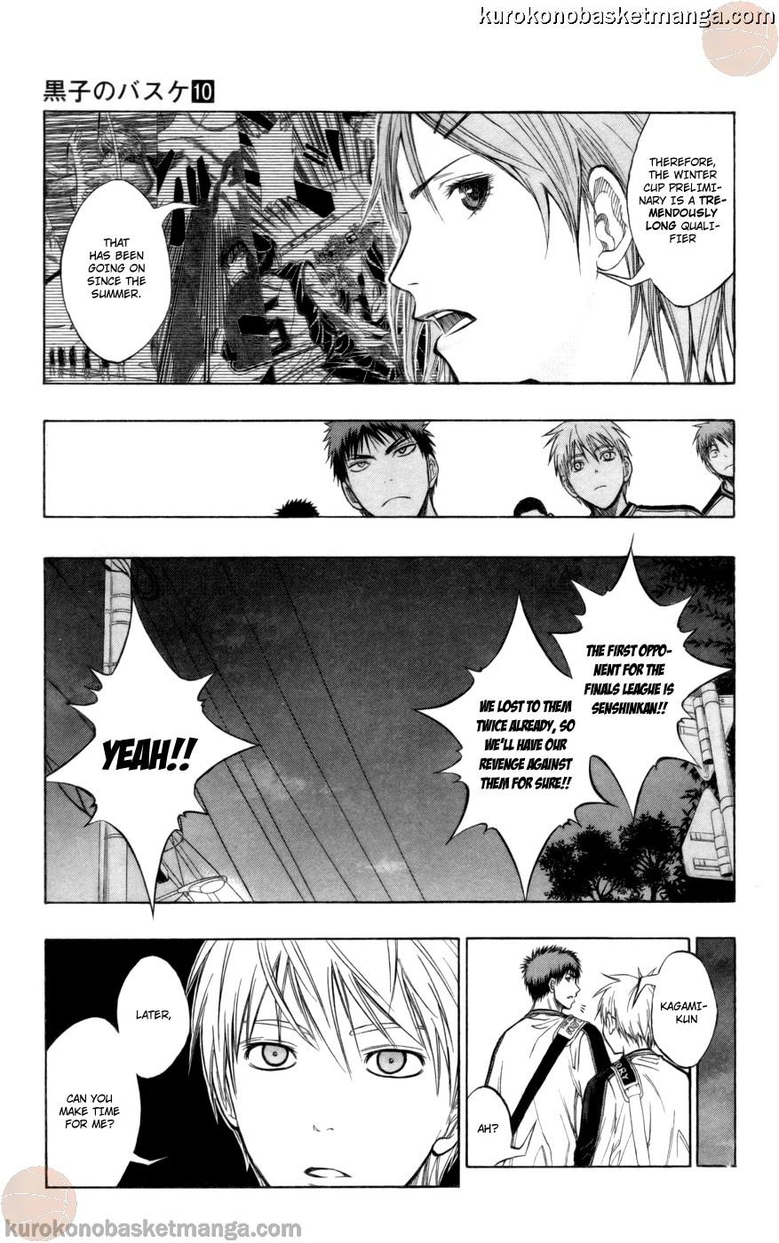 Kuroko no Basket Manga Chapter 84 - Image 05