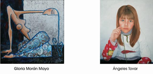 Retratos por encargo, Gloria Morán Mayo y Ángeles Tovar