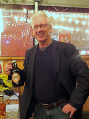 Brewstillery Festival preview and meeting Stuart Ramsay and trying his WhiskyBack beer