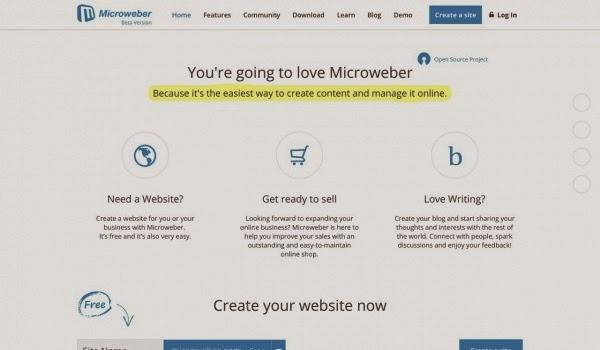 Microweber: Otra herramienta para crear un sitio web personal o de empresa   Gustavo Martínez Blog´s