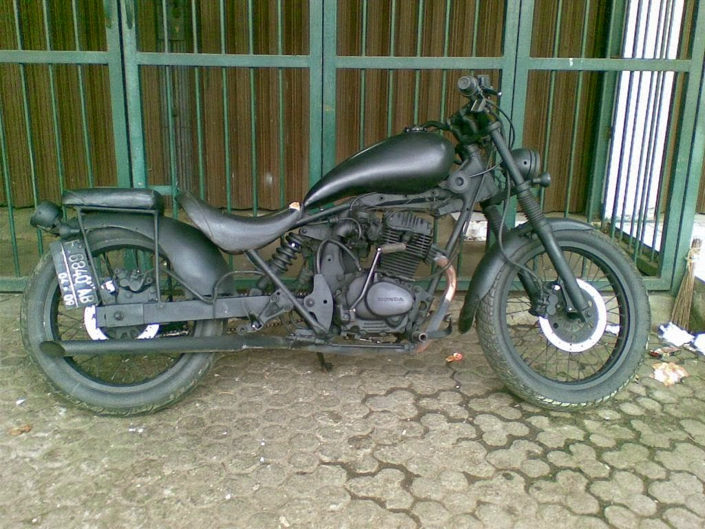 Astrea Grand Modifikasi Retro