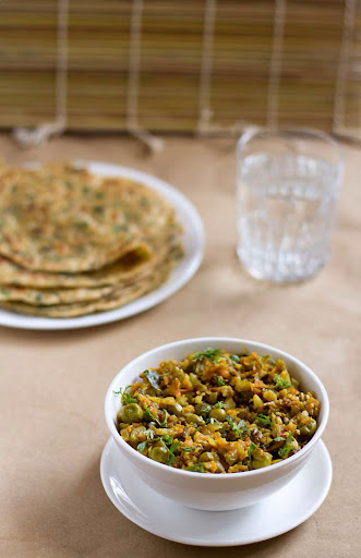 Veg Kheema - Guest post by dassana of veg recipes of india