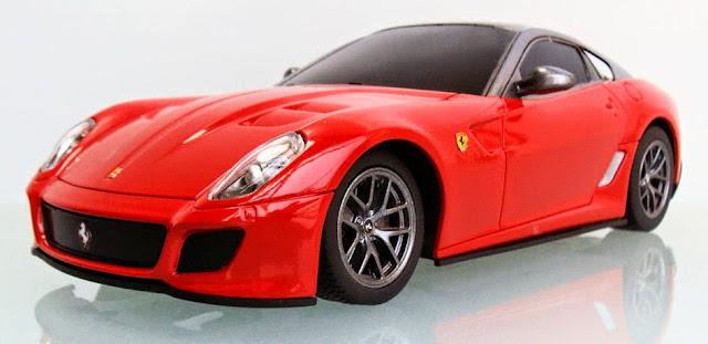 Xe ô tô điều khiển từ xa Ferrari 599 GTO tỷ lệ 1/24 thật long lanh đẹp mắt