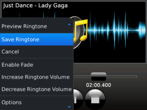 MP3 Ringtone Creator v3.5.9 BlackBerry App