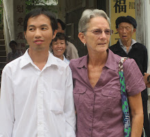 Janet Gross and Meng Jinzhi