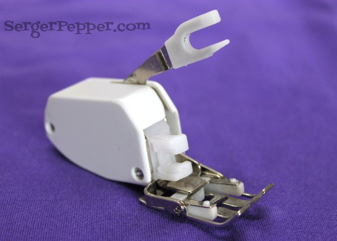 Serger Pepper - Sewing Denim like a Pro - Walking Foot