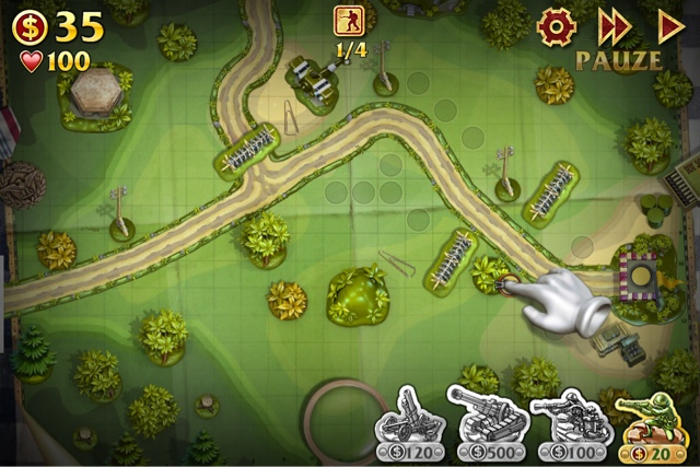 Toy Defense iPhone ScreenShot