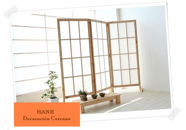 Hanji decoraci n coreano pasos como hacer un separador de - Como hacer un separador de ambientes ...