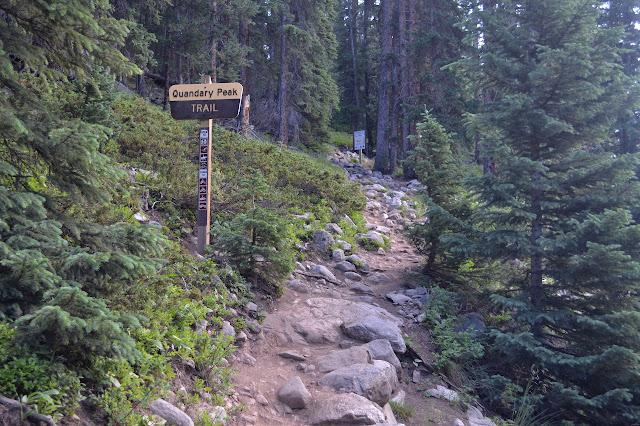 Quandary Peak Trailhead