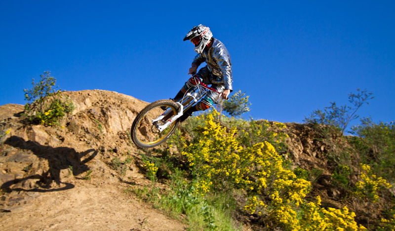 Disco Hoodie Mountain Bike Jumping