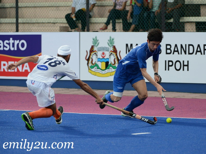 22nd SAS Cup 2013: Day 2: Match 2: Korea (2) - India (1)