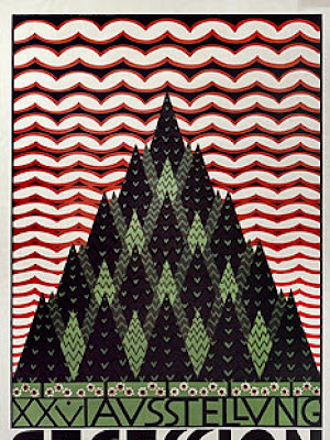 Koloman Moser - Wiener Secession exhibition poster