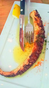 Mediterranean Exploration Company, Octopus with piquillo pepper and dill