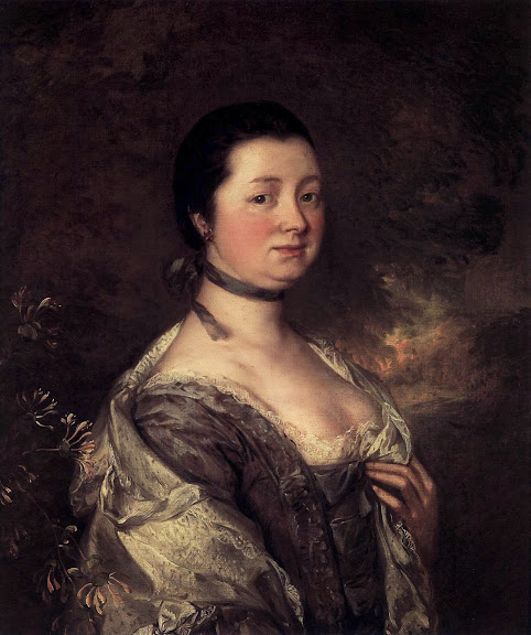 Thomas Gainsborough - The Artist's Wife
