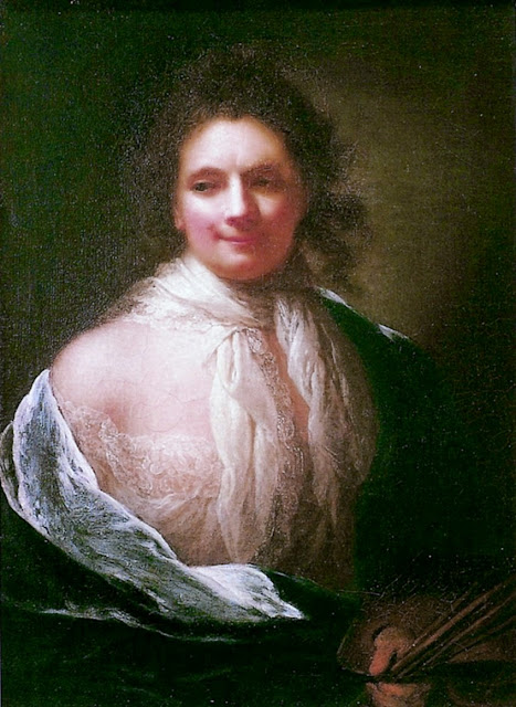 Anna Dorothea Therbusch - Self-portrait 1761