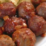 Classic Meatballs with Homemade BBQ Sauce