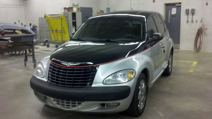 Collision repair and refinishing technology pt cruiser