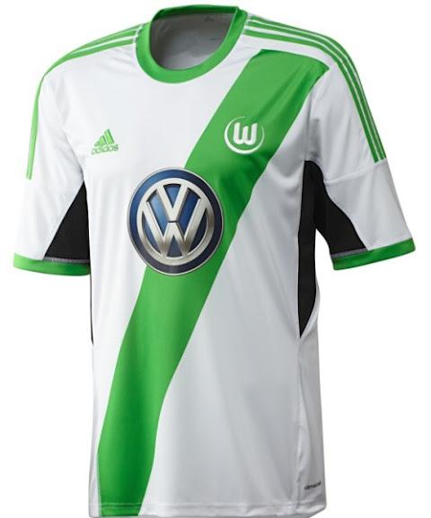 Jual Jersey Wolfsburg Home Terbaru 2014