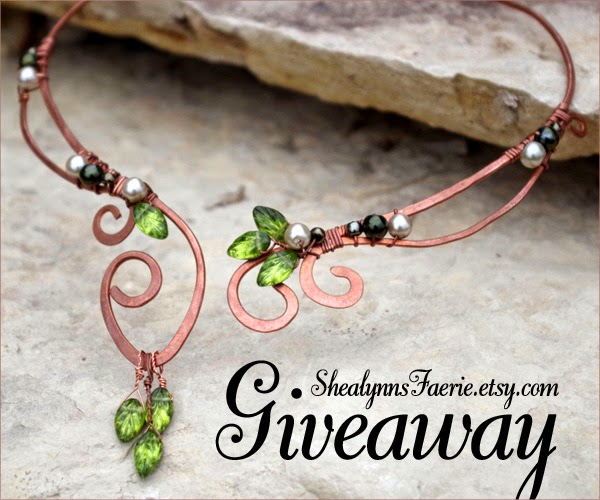 Elvish Jewelry Giveaway by Shealynns Faerie Shoppe