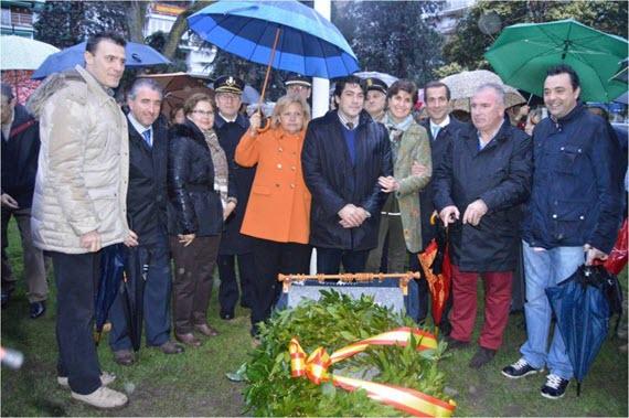 Inaugurado el Parque de las Víctimas del Terrorismo en Alcorcón