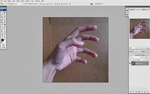 Open hand image