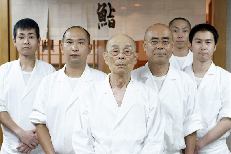 Mr. Jiro and his team