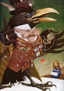 ERKO Vladislav Illustration to The Snow Queen (crow) 2006