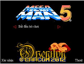 [Game Java] Megaman 5 - âm mưu của bruce
