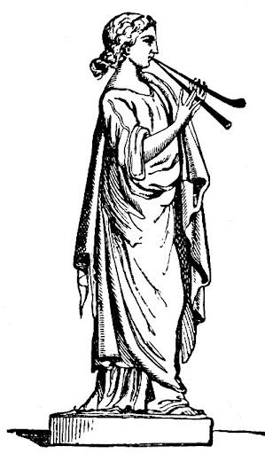 Goddess Euterpe Image