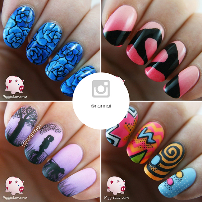 Instagram nail art accounts you need to follow 4 the artisans best instagram nail artists the nailasaurus uk nail art blog prinsesfo Gallery
