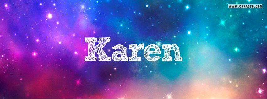 Capas para Facebook Karen