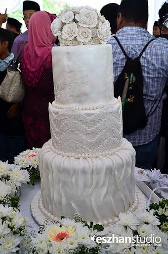 gambar kek kahwin ana raffali