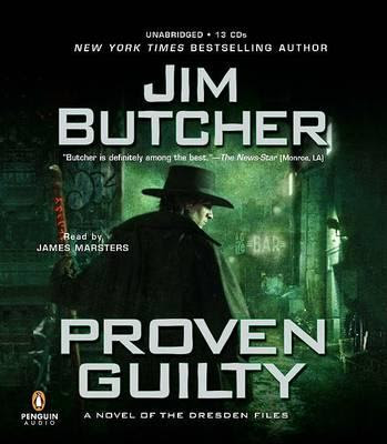 Book and Plot Summary: Proven Guilty (Dresden Files, Book 8), By Jim Butcher Audiobook Cover Artwork