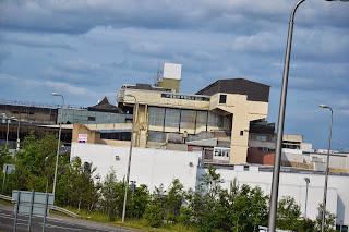 26-06-2013 - By Scott Campbell (+44) 0774 296 870 - Cumbernauld Town Centre; Picture shows Cumbernauld Town Centre close-up, as viewed from A8011 footbridge.