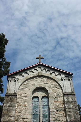 蓝天下的庐山天主堂