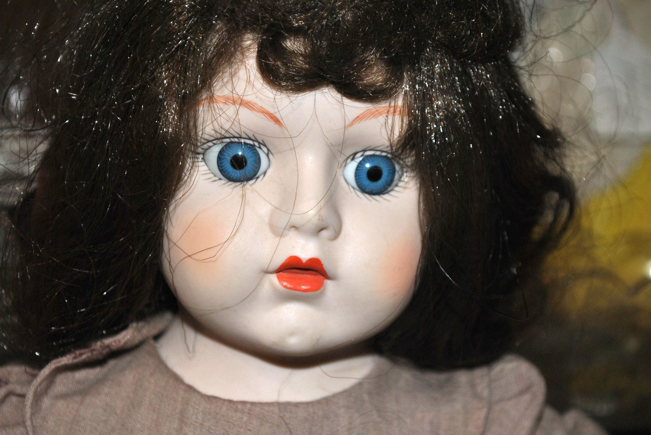 Image result for creepy doll