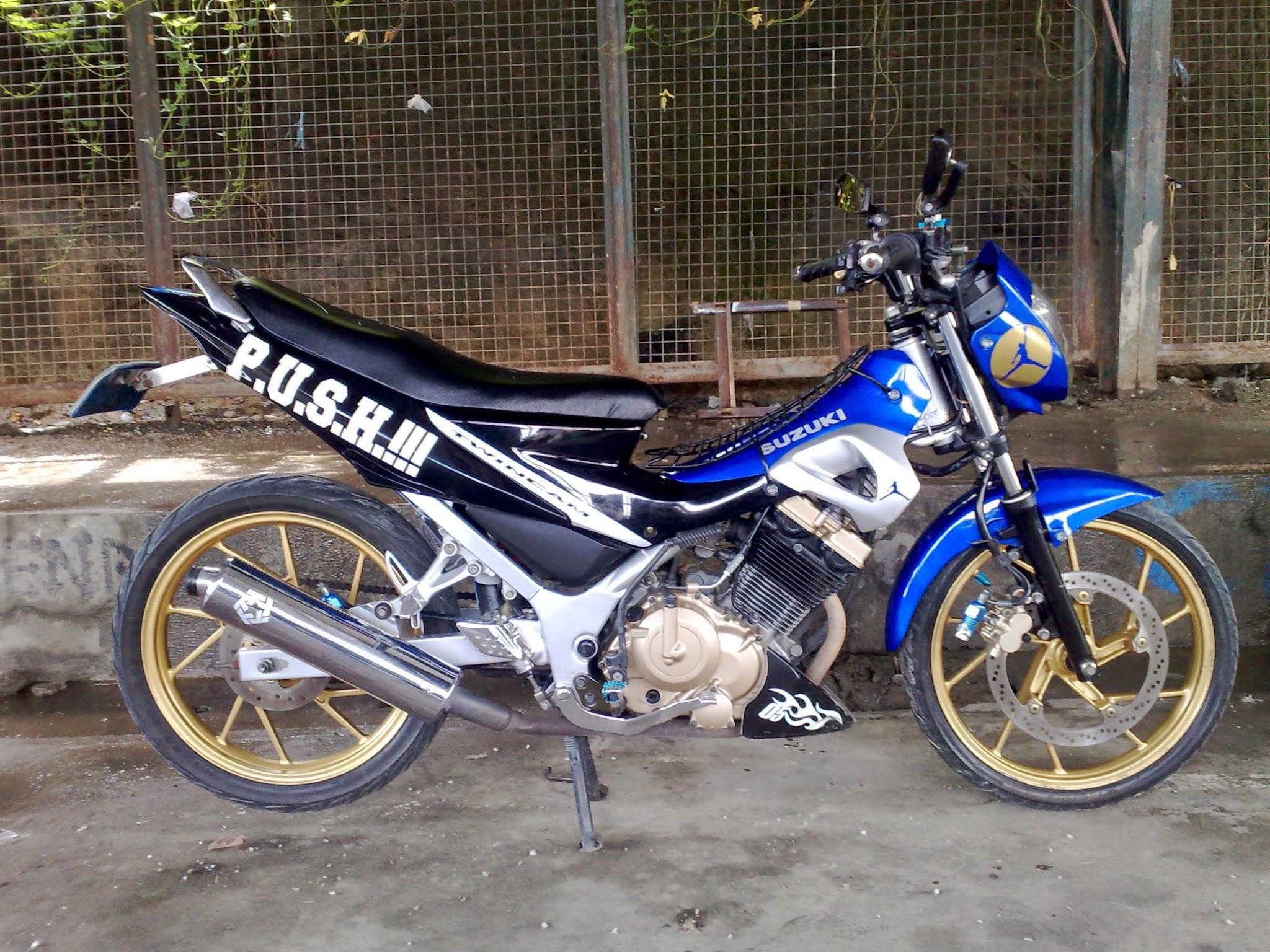 Motor Suzuki Satria Modifikasi