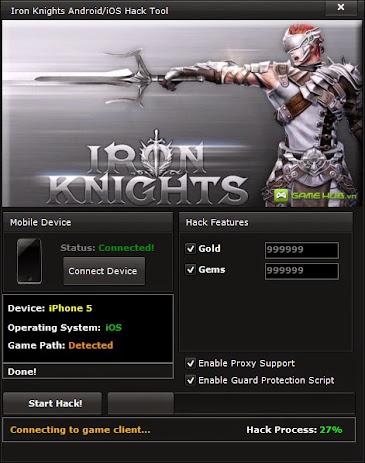 Iron Knights Hack Tool NO SURVEY
