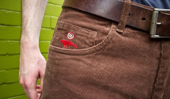 Cord Club Pants