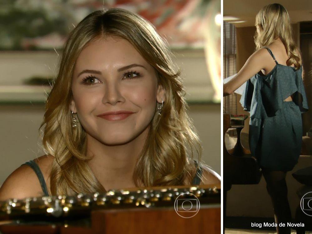 moda da novela Em Família - look da Lívia dia 6 de junho